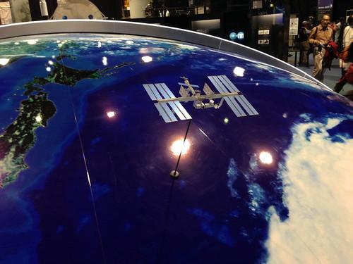 ISSの模型