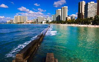Waikiki and Honolulu