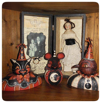 Donna's-Photo-Johanna-Parker-Collection-Halloween-Busts