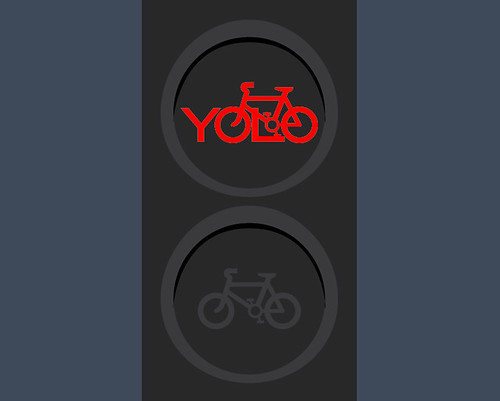 Day 24 - Cyclists, you only live once so don't cycle through red lights