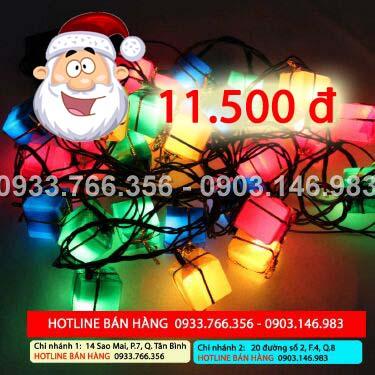 Combo 3 dây đèn trang trí Noel, Tết giá 55. 000đ