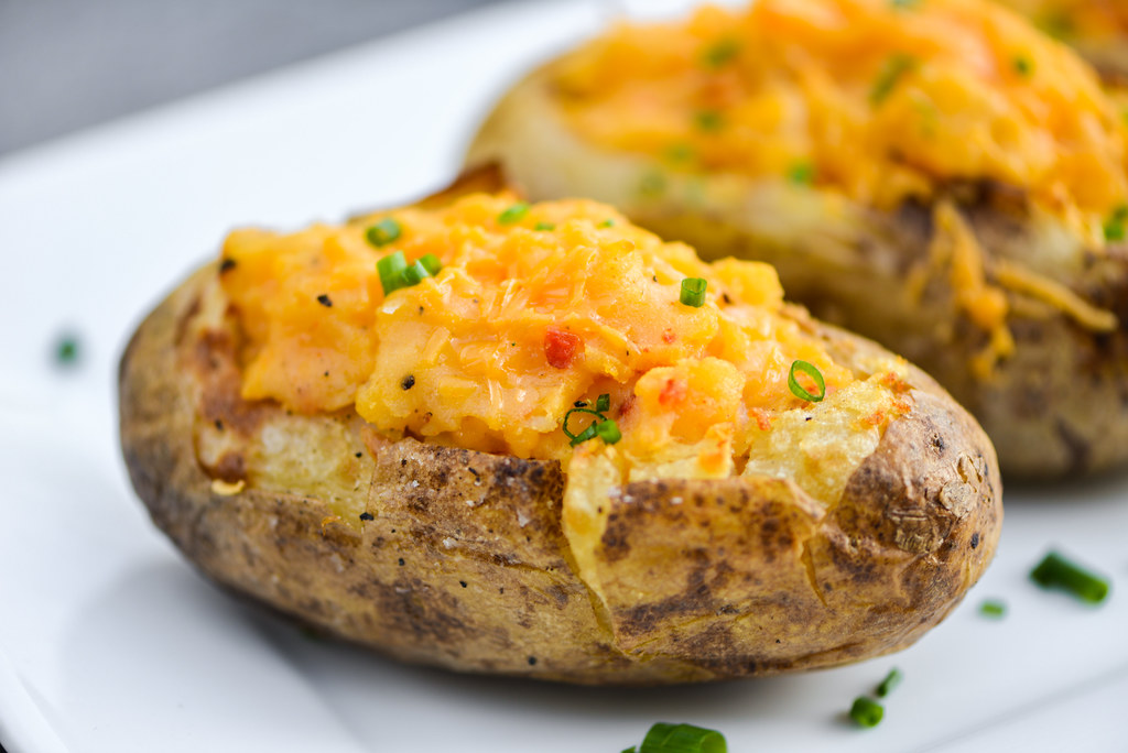 Pimento Cheese Twice Baked Potatoes