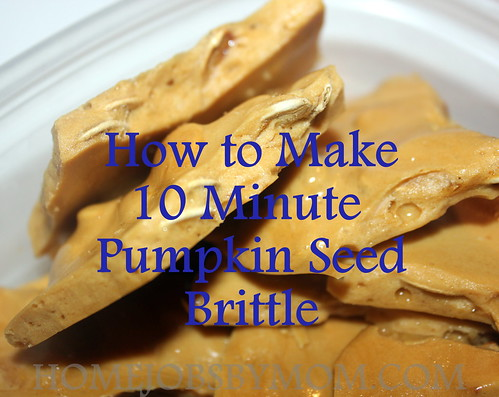 10 Minute Pumpkin Seed Brittle Recipe