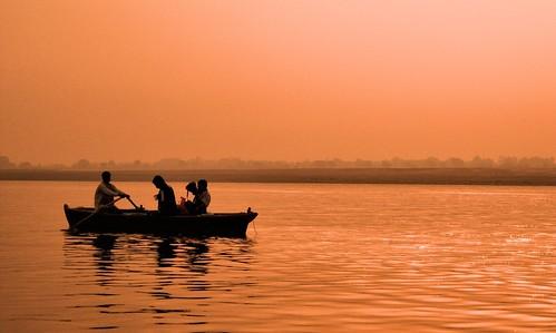 life morning people india birds silhouette river religious dawn nikon asia image indian traditional religion culture belief varanasi boating tradition spiritual hindu hinduism ganga ganges banaras benaras pallabseth