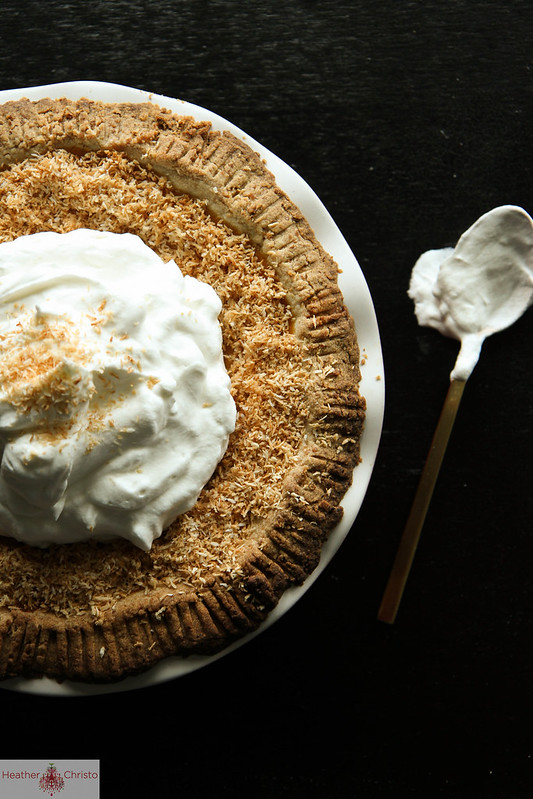 55 Pumpkin Recipes, like this Pumpkin Coconut Cream Pie