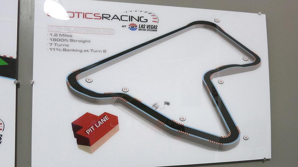 Exotics Racing track map