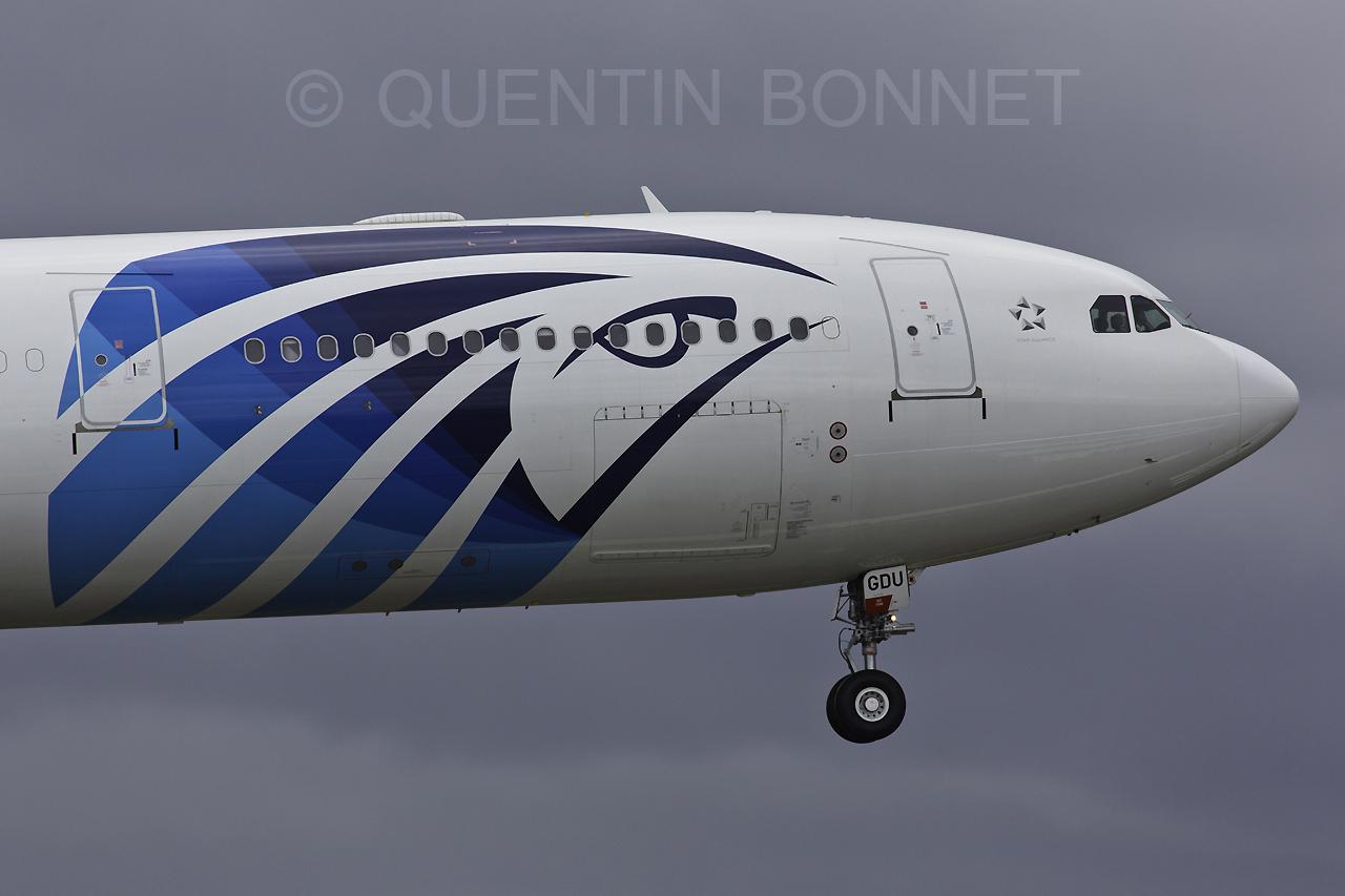 EgyptAir Airbus A330-343X SU-GDU