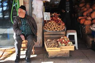 Street scene Qazvin Iran