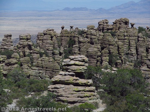 More spires/views along the Big Balanced Rock Trial, Chiricahua National Monument, Arizona