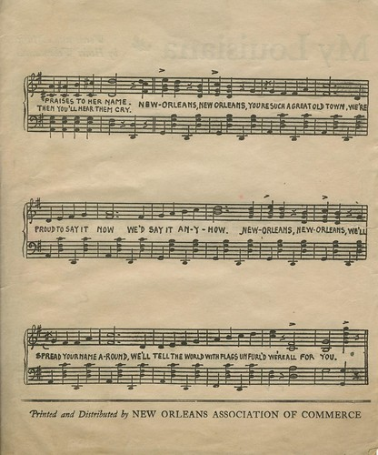 New Orleans Sheet Music