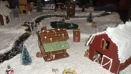 Gingerbread Village at THE OTESAGA in Cooperstown, NY by JuneNY