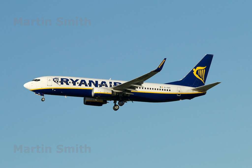 EI-DAR - B738 - Ryanair