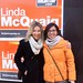Campaigning with Linda McQuaig in Toronto!