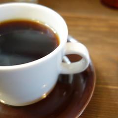 そしてコーヒー。Snugはネルドリップ。