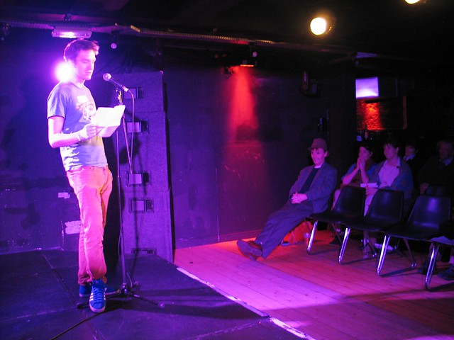The Book Week Scotland/Inky Fingers Dead Poet Slam: defending champion Charles Bukowski!