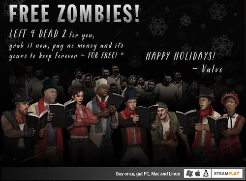 Karácsonyra ingyen zombik!