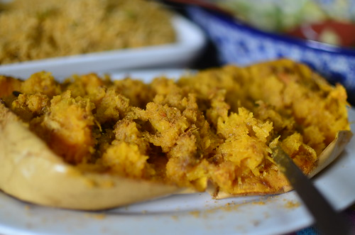 Nigerian Roasted Suya-spiced Butternut Squash