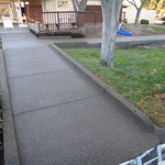 ADA Compliant Concrete Ramp In Davis