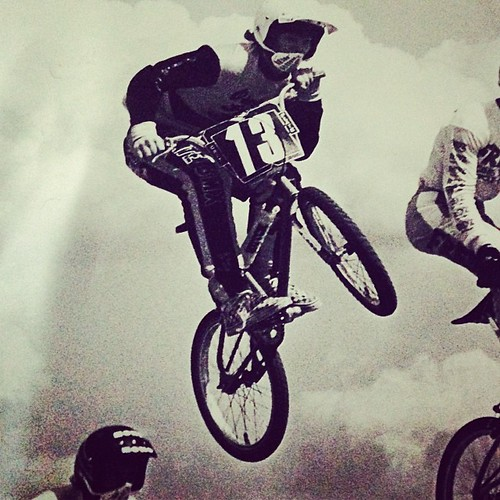 Throwback Thursday! Little BMX action at the NBL Grands in 87' I believe! #bmx #critplate