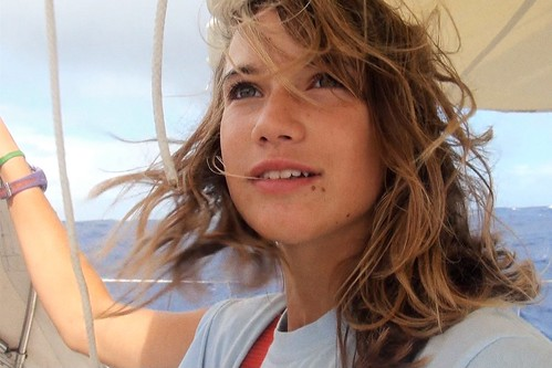 A portrait of Laura Dekker, the Dutch teenager whose solo sail around the world is documented in Maidentrip.