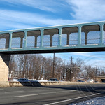Bergen Town Center Pedestrian Overpass over Route 4, Paramus, New Jersey