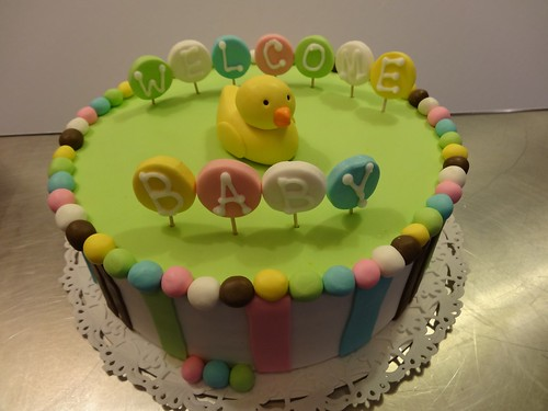Baby Shower Cake by CAKE Amsterdam - Cakes by ZOBOT