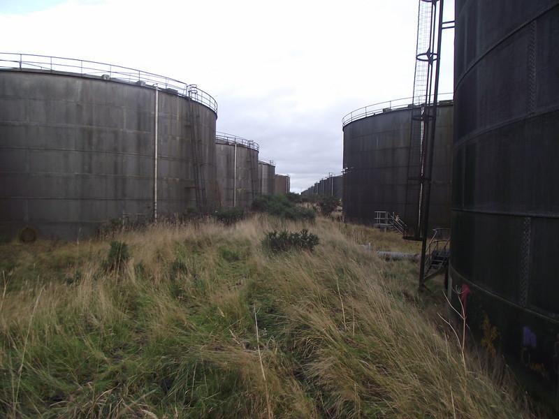 Seabank Tank Farm - Abandoned Scotland