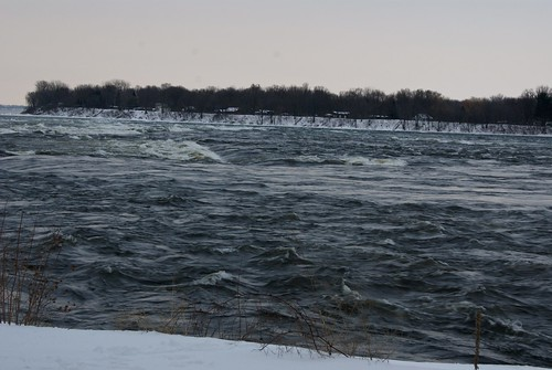 The Rapids in Winter