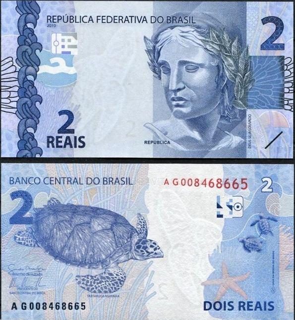 2 Reais Brazília 2010 (2013)
