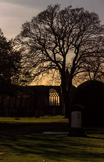 Dunfermline Abbey Sunset