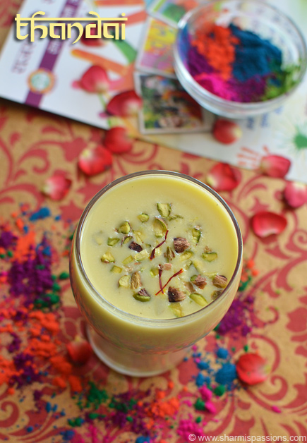 Thandai Recipe
