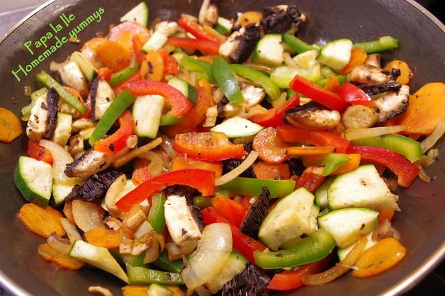 Orez cu legume si carne de curcan (7)