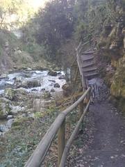 Precarious walkway