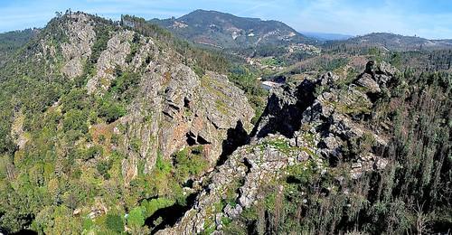 landscape hills schist casaldesaosimao centralportugal