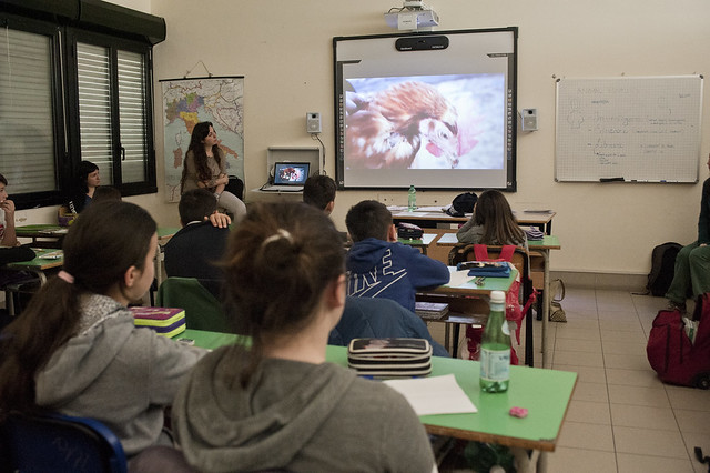 Progetto nelle scuole di Animal Equality