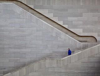 National Gallery Atrium Stairs