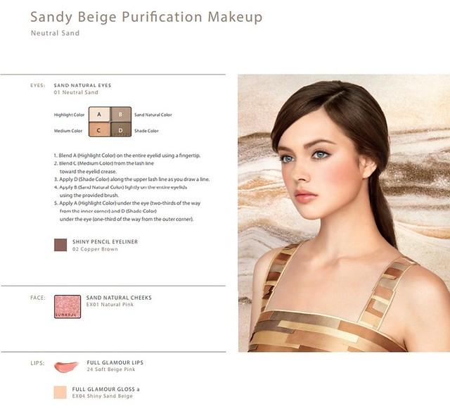 sandy beige purfication-vert