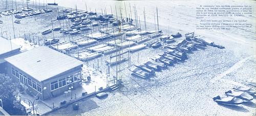 Vista del Club l'any 1974