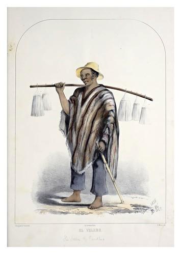 011- El velero-Recuerdos de Lima, álbum, tipos, trajes y costumbres Vol 2-1857-Bonaffé A.A.