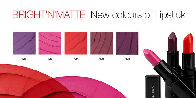 new lipstick matte indication