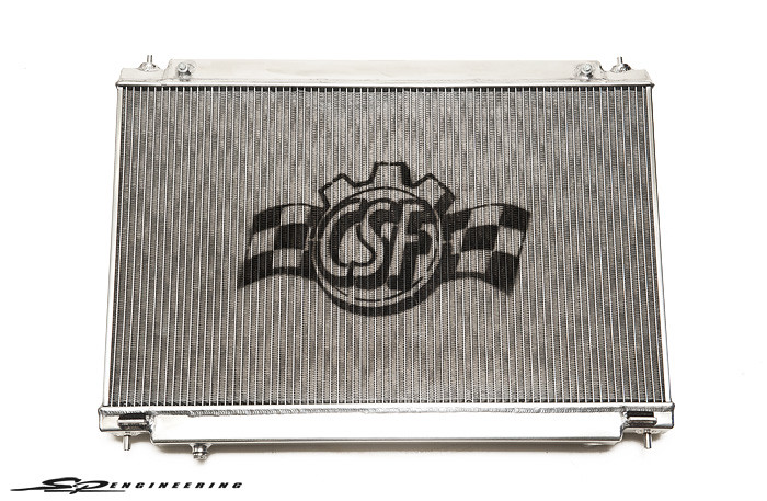 CSF High Capacity Radiator for 2009+ Nissan R35 GT-R