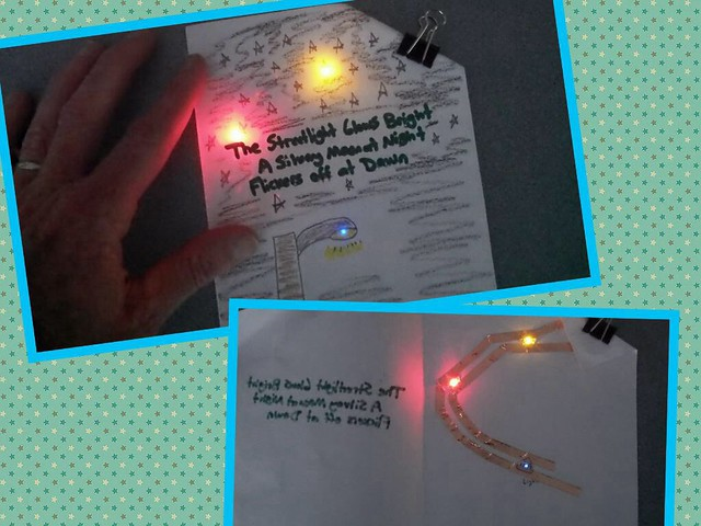 Paper circuitry mentor text