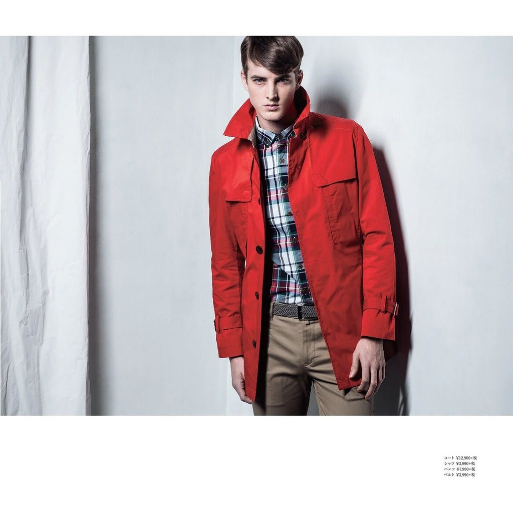 James Smith0192_m.f.editorial Men's Spring Collection 2014