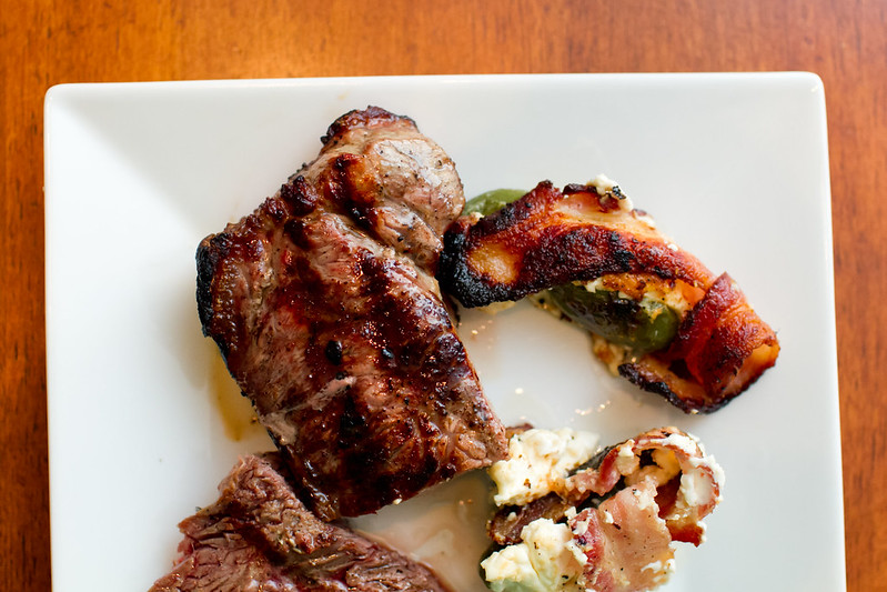 Steak & Jalepeno Poppers