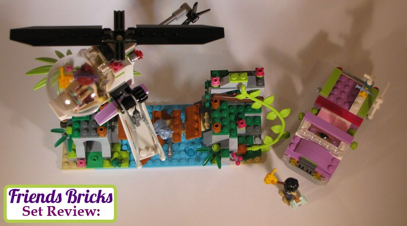 How To Build Lego Friends Jungle Bridge Rescue