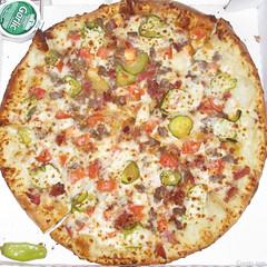 Papa John's Bacon Cheeseburger Pizza