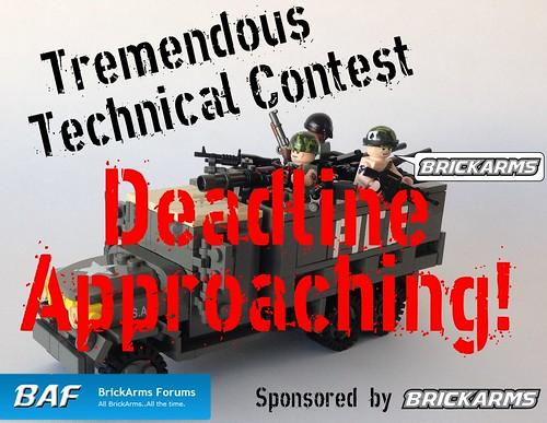 BAF Tremendous Technical Contest - Deadline Approaching!
