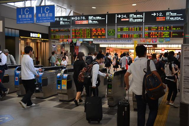 岡山駅在来線改札