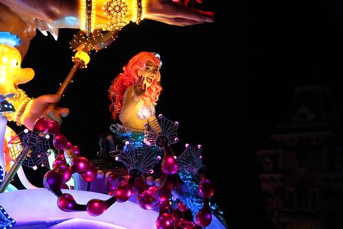 disney paint the night parade- ariel