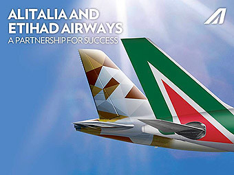 Alitalia y Etihad Airways (Alitalia)
